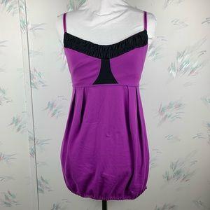Lululemon Yogi Dance Tank Top Purple Black 8